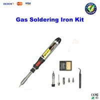 electric gas - in1 Butane Gas Electric Soldering Irons DIY Pen Shaped Cordless Gas Soldering Iron Torch Kit Tool