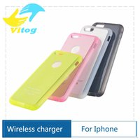 apple wireless adaptor - Qi Wireless Charging Receiver Case for iPhone S quot Inch Qi Charger Adaptor TPU Cover Coil Accept
