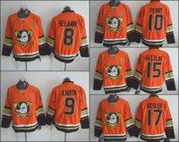 anaheim - 2015 Anaheim Ducks Alternate Orange Hockey Jerseys Teemu Selanne Paul Kariya Corey Perry Ryan Kesler Ryan Getzlaf Jersey