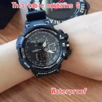 Wholesale S5Q Multi Function Military Shock Sports Watch LED G Watches Analog Digital Waterproof Alarm AAACSR Electronic Watch