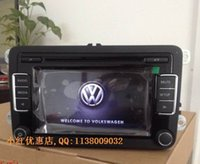 Wholesale car dvd OEM Car Radio RCD510 USB Unused With Code Support Rear View Camera RVC Interface For VW Golf Jetta MK5 MK6 Passat B6 CC B7L