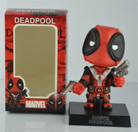 anime collection figurines - Marvel Deadpool action Figure toys Hot Movie Cosplay pvc Anime Figures Juguetes Model Kids Toy doll figurine gift collection