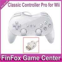 Wholesale 10pcs a Classic Controller Pro for Wii White