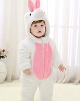 anime white rabbit - White Rabbit Child Kigurumi Baby Pajamas Toddler Animal Suits Cosplay Outfit Christmas Costume Kid Cartoon Jumpsuits Animal Warm Sleepwear