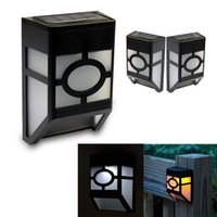 Wholesale Miyol Miyol Waterproof Outdoor Solar Wall light LED Solar Lamps for Outdoor Garden Fence Wall Step