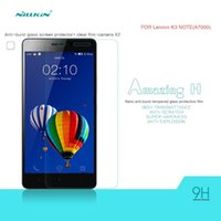 amazing h - Nillkin Amazing H Tempered Glass for Lenovo K3 Note Screen Protector Explosion Proof Film