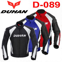 Wholesale Authentic DUHAN riding clothes Jackets motocross motorcycle suits Motorbike clothing moto racing jacket Male Motorbike Rally clothes color