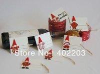 Wholesale christmas decoration christmas gift pad xmas items gift tags hanger designs asst per set sets free shipment