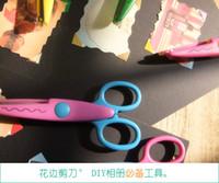 artwork crafts - New design option Decorative Wave lace Edge Craft school Scissors DIY for Scrapbook Handmade Kids Artwork Card Safe