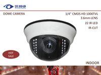 cctv ir led camera - Hot Sale Security Camera Indoor IR CUT Night Vision Led IR Dome CCTV Camera DVR quot CMOS TV Surveillance Camera W41