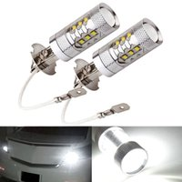 Wholesale 80W White K Fog Light Driving Lamp made by High Power Epistar LED w in bulit High Quality IC Control