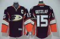 anaheim - Men s Anaheim Ducks Ryan Getzlaf Black Third Jerseys Ice Hockey Jerseys