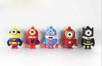 flash drives 2gb - Pen drive cartoon super heros minions usb flash memory stick pendrive GB GB GB GB usb flash drive u disk