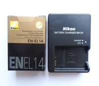 Wholesale EN EL14 Battery MH Charger For Nikon COOLPIX P7000 D3100 D3200 D510