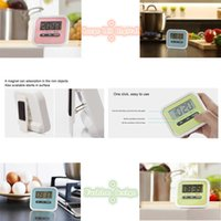 Wholesale 1Pcs SALE HOT Large LCD Digital Kitchen Cooking Timer Count Down Up Clock Loud Alarm you must be like it