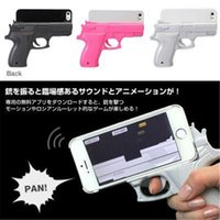 abs moulding - Iphone protect cover with Gun mould phone case Innovation trend pistol sheath Cell phone protection cover personality for Iphone