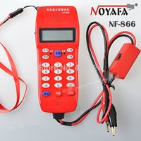 auto caller - Cable Tester Phone NF for Telephone Telecommunication Check Phone DTMF Caller ID Auto Detection order lt no track