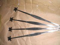 Wholesale 8 Silver color Violin Sound Post setter Luthier tools