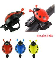 Wholesale Small Attracitve Funny Bicycle Bell Bike Bell New Ladybug Cycling Bell Outdoor Fun Sports Bike Ring Hot Selling