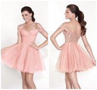 Cheap 2015 Short Cap Sleeves Lace and Tulle Prom Dresses Custom Made Tarik Ediz Prom Gowns