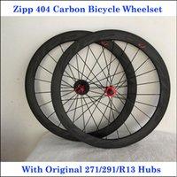 carbon bicycle wheel set - ZI P Carbon Bike Wheel Set C Full Carbon Fibre K Road Bicycle Wheels Carbon mm R13 Hubs Gloaay Matt