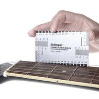 bass string gauges - 1pcs Ruler Gauge Tool in mm for Guitar Bass Mandolin Banjo Durable String Action High Quality