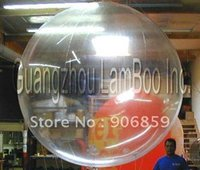 air free helium - Transparent Color m Diameter Inflatable Helium Balloon With Plastic Boston Air Valve Inflatable Sky Ball