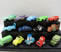 Wholesale 14pcs PVC Pixar Car Figures Toy Cars Toys Full Set for Gift cartoon cars movie car Model in stock
