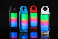 ipads - Rainbow Color Bright LED Wireless Speaker Bluetooth With Degree Sounds For iPhone For iPads Laptops