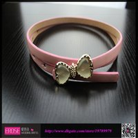 Wholesale Multi Color Belt Attractive Women s Accessories Crystal Bow Charming Belt High Quality