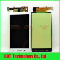 Wholesale Vip Price Cell Phone Parts for HuaWei Ascend P6 U06 lcd display screen assembly good qualitty Black White Color