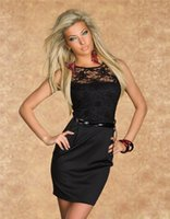 Cheap 2015 New Arrivals Fashion Women's Spring Summer Clothing Sexy Slinky Lace Dress Party Club Dress Drop shipping