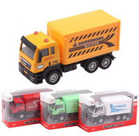 Wholesale Post Office Car Traffic Truck Farm Trucks Cars Children Boys Man Model Toys Christmas New Year Gifts Diecast Model Vehicle Car D2987