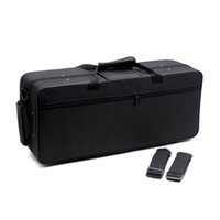 Wholesale 600D Water resistant Gig Bag Box Backpack Oxford Cloth for Trumpet with Adjustable Dual Shoulder Strap Pocket Foam Cotton Padded order lt no