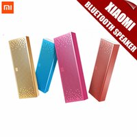 Cheap Newest Original Xiaomi Bluetooth Speaker Wireless Stereo Mini Portable MP3 Player For iPhone Samsung Handsfree Support TF AUX