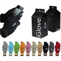 Wholesale Iglove Full Finger Gloves Unisex Functional iglove Capacitive Iphone C S Ipad Smart Phone Warm Glove