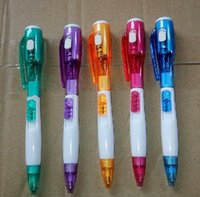 Wholesale cheap LED light pen customized with