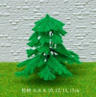 artificial fir trees - Model tree fir plastic artificial tree great pine christmas tree model material