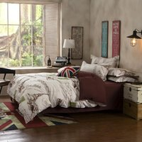 Wholesale new Paris western modern city king queen full size bedding set comforter sheet duvet cover linen home textile pillow case Y01