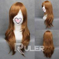 bianchi reborn - gt gt cm X Long REBORN Bianchi Light Brown Straight Anime Cosplay wig