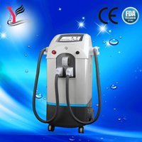Wholesale 2015 Promotion Double handle OPT e light skin rejuvenation machine Permanent hair removal Elight wrinkle removal machine