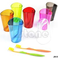 Wholesale A24 New Flip Cup in Toothbrush Holder Lovers Multi function Cup Wash Gargle Cup order lt no track