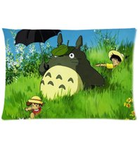 Wholesale 2016 New My Neighbor Totoro Pillowcase X30 Inch Cotton Pillow Case Protector