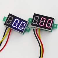 Wholesale 1 Car DC0 V three wire Reverse polarity for protection for DC digital voltmeter