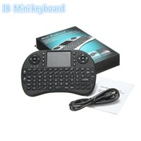 Wholesale Rii I8 Fly Air Mouse Mini Wireless Handheld Keyboard GHz Touchpad Remote Control For MXQ TV BOX Mini PC DHL