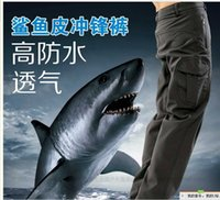 Wholesale Manufacturers selling TAD model of shark skin soft shell charge pants pants of soft shell wind proof Mountain men pants blunt