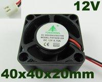 Wholesale 5pcs Brushless DC Cooling Fan Blades DC V mm x mmx20mm Pin