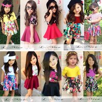 Cheap summer girls outfits Best summer kids clothing
