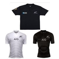 Wholesale New all black rugby New Zealand rugby Season world cup Men Jersey Top quality Rugby Jersey