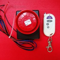 Wholesale Motorcycle Motorbike Scooter Security Alarm System Vibration Detector Sensor anti theft Alarm with wireless remote